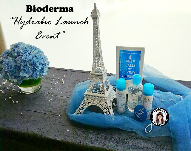 LAUNCHING BIODERMA HYDRABIO - TESTIMONI #SprayyourSELF