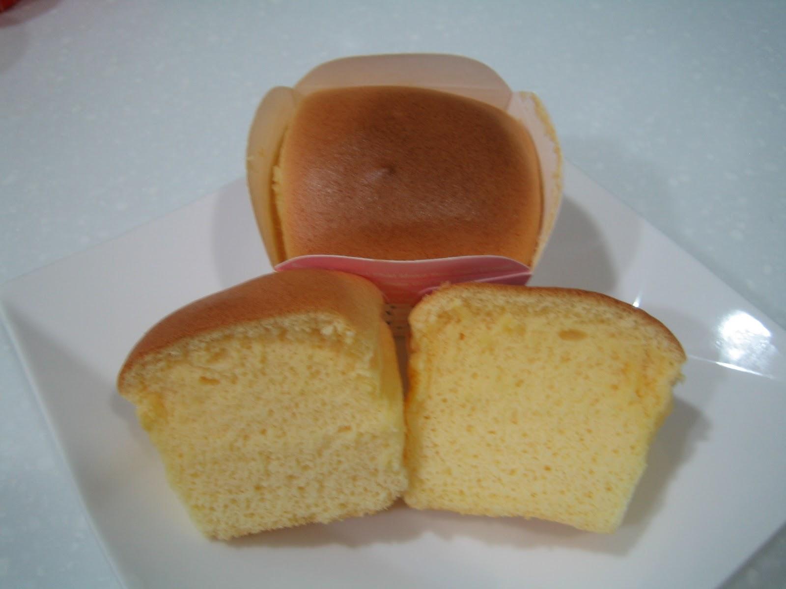 快樂來自於分享: 黃金戚風杯子蛋糕