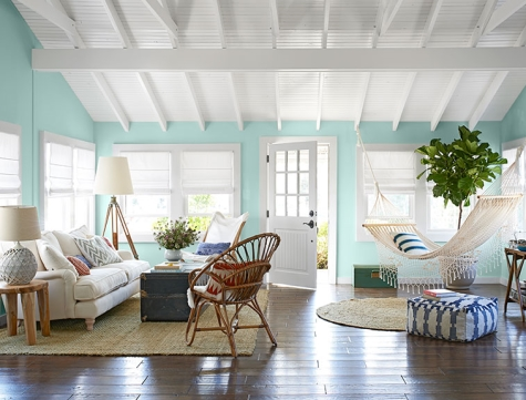 beach bungalow makeover