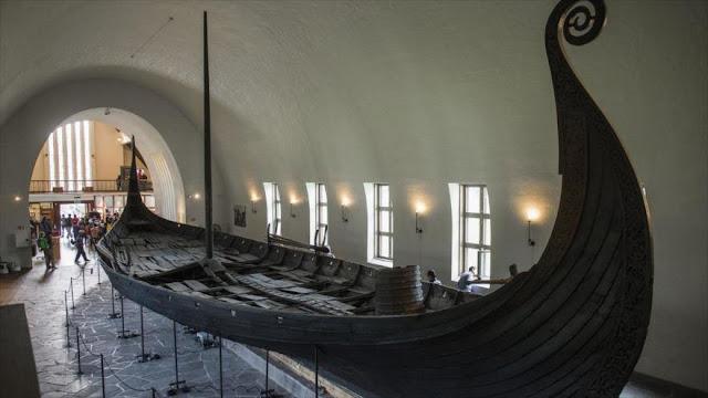 Hallan en Noruega restos de un barco vikingo de la Edad de Hierro