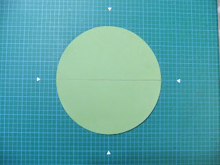 From My Craft Room Round Shaped Side Step Card Tutorial