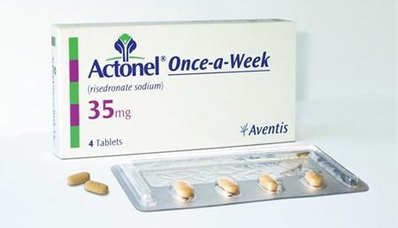 سعر ودواعى إستعمال دواء أكتونيل Actonel لعلاج هشاشة العظام