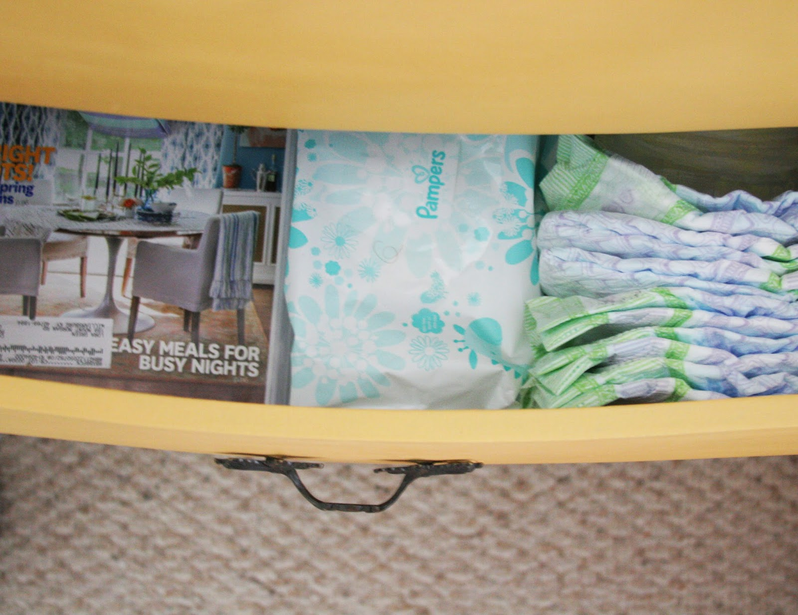 Bedside Nursing Station, Diapering Station, Baby Shower Gift, Gift for New Mom by @CraftivityD