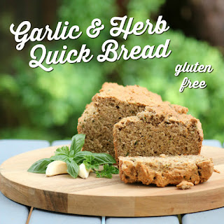 Gluten Free Garlic and Herb Bread