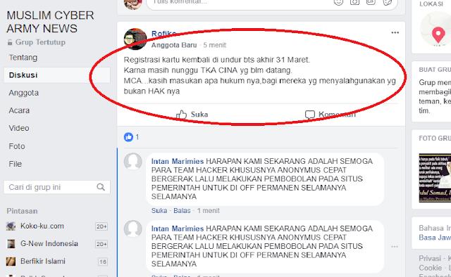 Gilaak, Ngeriii, Makin Parah, Walau Rekan Sudah Diangkap Aksi MCA di Medsos Makin Brutal Sampai Buat Provokasi Begini