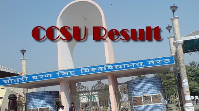 CCSU Result 2017–2018 (UG/PG) Regular, Private Exam Marks @ccsuresults.com
