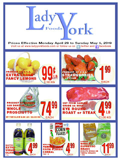 Lady York Foods Weekly May 2 - 8, 2019