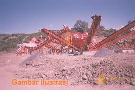 Stone Crusher Shan Bao Kapasitas 70-100 Ton/Jam Tritunggal Dharma