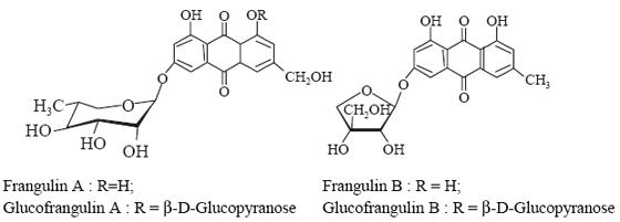 glucofrangulns A and B