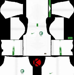 Saudi Arabia 2018 World Cup Kit -  Dream League Soccer Kits