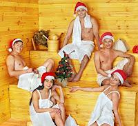 Finlanda: Sauna de Crăciun