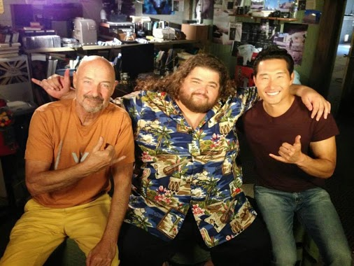 Hawaii Five-0 - Season 4 - BTS Filming Photos of Jorge Garcia
