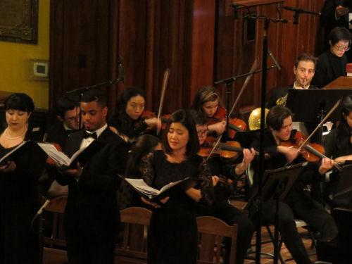 Mendelssohn Club singing Holy Trinity Church Philadelphia