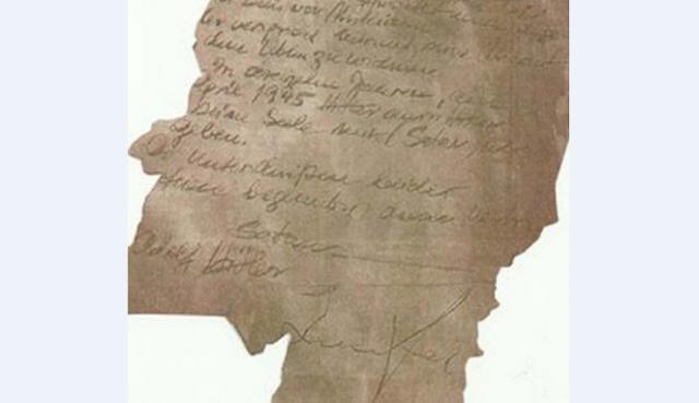 Ditemukan Surat Misterius, Perjanjian Adolf Hitler dengan Iblis?