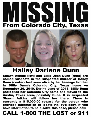 Missing 13 Year Old Boy: Soccer: New Posters For Missing 13 Year Old, Hailey Dunn