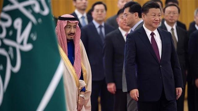 Seeking bigger active economic and diplomatic role in the Middle East, China hosts Saudi Arabia's King Salman bin Abdulaziz Al Saud