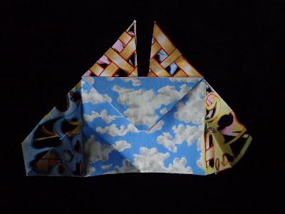Origami corazón día (proceso 3)