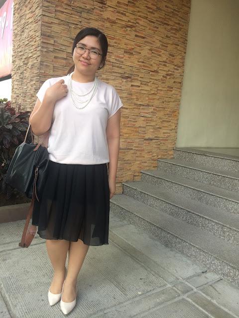 midi skirt+chiffon+black+pantone+blush+basic+iora+mango+robinsons department store+RDS+pastel+bag+mang bag+aizha guevarra+life of a+mommy blogger+blogger