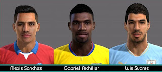 Faces Sudamericanas 2016 Pes 2013