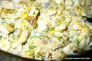 рыбка готовая, в сковороде