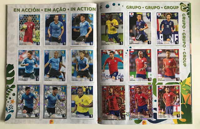 Figurine in azione Copa America 2019
