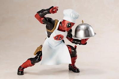Fotografías de ARTFX + Cooking Deadpool 1/10 - Kotobukiya