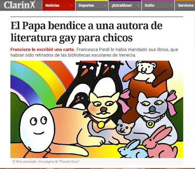 La agenda gay de Bergoglio