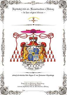 Герб Гроссмейстера ордена