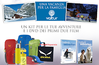 Logo Euronics e Belle&Sebastien: vinci gratis DVD, kit Salewa e vacanza in montagna