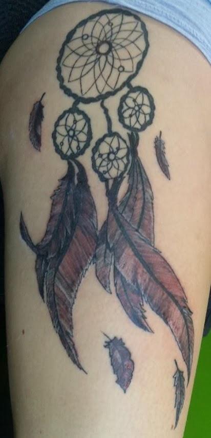 Traumfà Nger Tattoo: Uni Tattoos: Traumfänger
