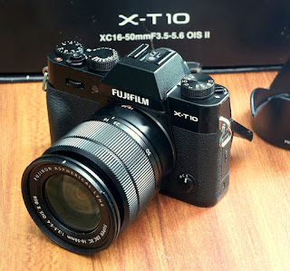 Jual Fujifilm X-T10 Mirrorless Bekas
