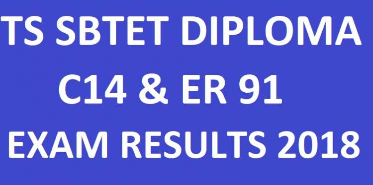 TS SBTET C14 & ER91 1st, 2nd Year Results 2018 - manabadi