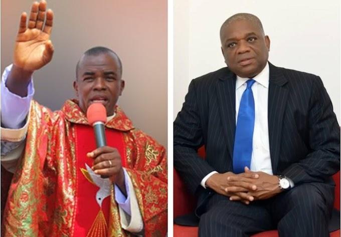 BREAKING: Orji Kalu is back to Nigeria – Father Mbaka
