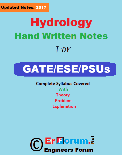 hydrology-notes