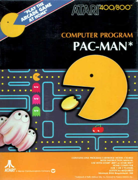 Atari Pac-Man front