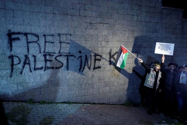 Alhamdulillah! Muslim dan Nasrani Palestina Bersatu Melawan Trump