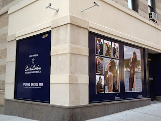Brooks Brothers at Broadway and 87th St.