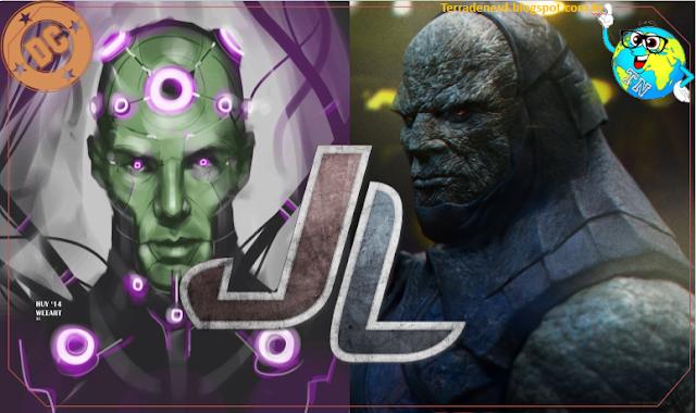 Justice League, liga da Justiça, Darkseid, Brainiac, Amber Heard, JK Simons, Willem Dafoe, Cinema, Terra de Nerd,