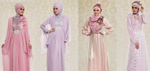 Model Baju Pesta Muslim Formal Dan Semi Formal