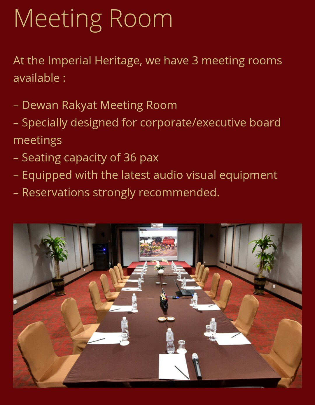 Hotel Imperial Heritage