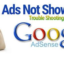 Peyebab Iklan adsense tidak tampil di blog / blank