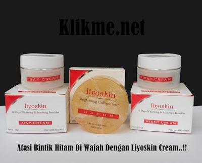Cream Penghilang Bintik Hitam Di Wajah Liyoskin