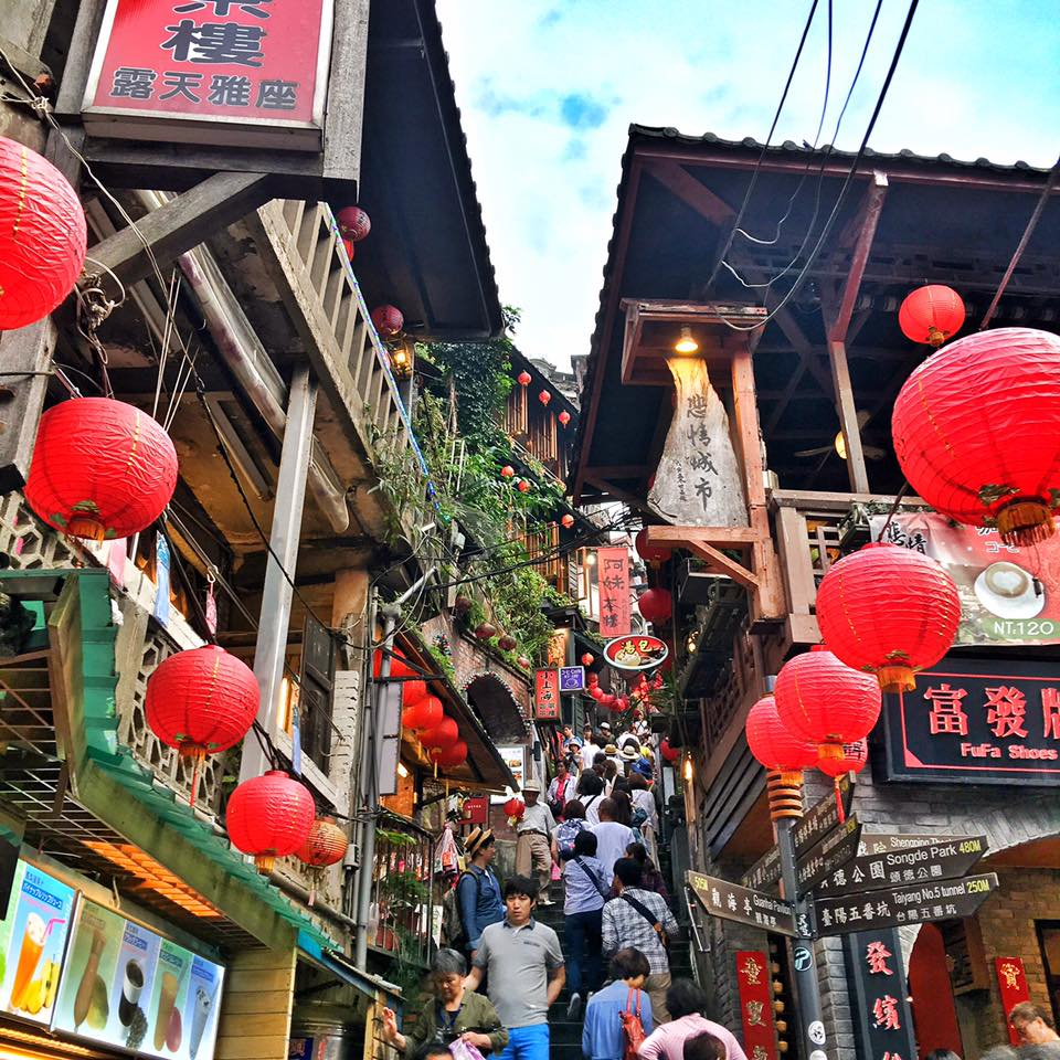 Travel with Crystal- 4 days in Taiwan- Day in JiuFen