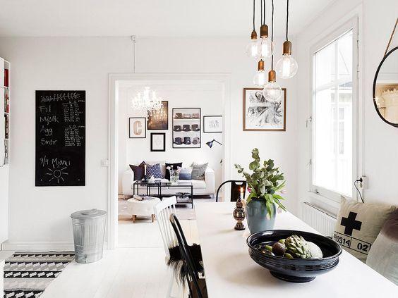 Bombillas vistas para decorar tu salón