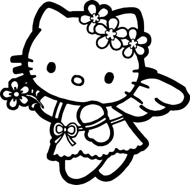 Hello Kitty Princess Coloring Page Printable Coloring Pages For Girls Hello  Kitty Princess Cartoon