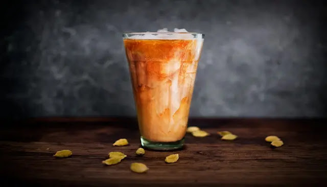café helado Tailandés