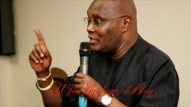 Atiku asks PDP to focus on sacking a govt that got power 'through deceit'