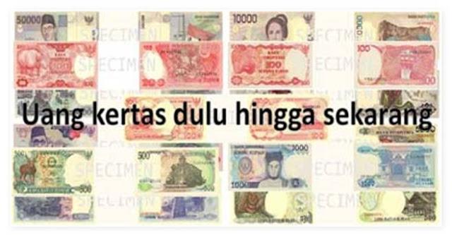uang kertas rupiah