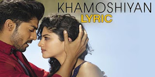 KHAMOSHIYAN-LYRICS Image