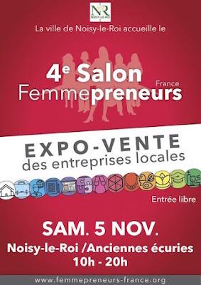 Affiche Salon Femmepreneurs 2016 Noisy le Roi